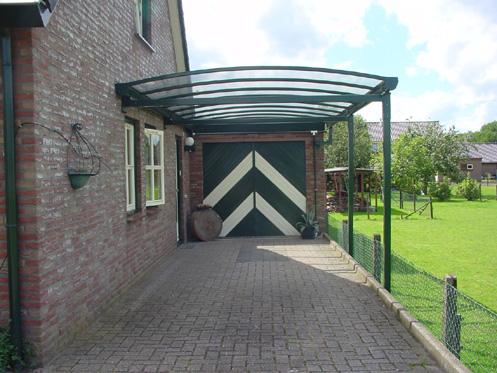 Robert klomp carport 39 s en zonwering is het adres voor uw for Carport aluminium glas